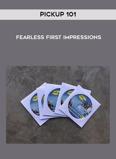 Pickup 101 - Fearless First Impressions form https://koiforest.com/