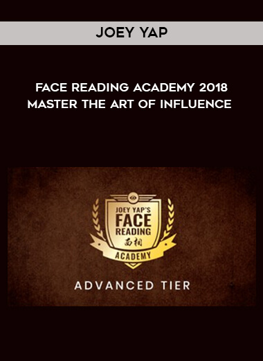 Joey Yap - Face Reading Academy 2018 - Master The Art Of Influence form https://koiforest.com/