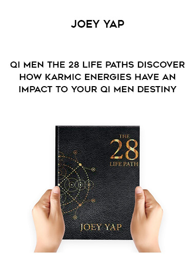 Joey Yap - Qi Men The 28 Life Paths - Discover how karmic energies have an impact to your Qi Men Destiny form https://koiforest.com/