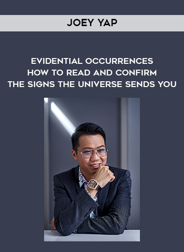Joey Yap - Evidential Occurrences - How To Read and Confirm The Signs The Universe Sends You form https://koiforest.com/