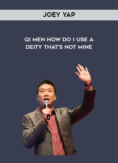 Joey Yap - Qi Men - How Do I Use A Deity That's Not Mine form https://koiforest.com/