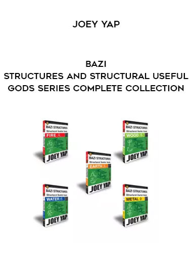 Joey Yap - BaZi Structures and Structural Useful Gods Series complete collection form https://koiforest.com/