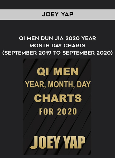 Joey Yap - Qi Men Dun Jia 2020 Year - Month - Day Charts (September 2019 to September 2020) form https://koiforest.com/