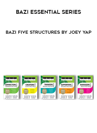 Bazi Essential Series - Bazi Five Structures by Joey Yap (Full Set 5 eBooks) form https://koiforest.com/