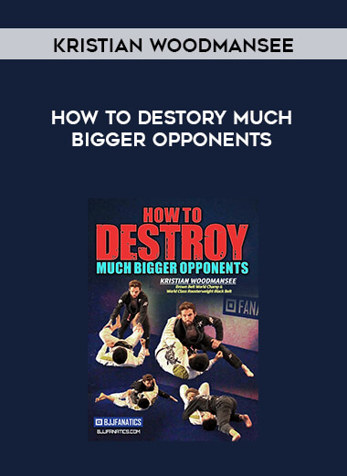 Kristian Woodmansee - How To Destory Much Bigger Opponents form https://koiforest.com/