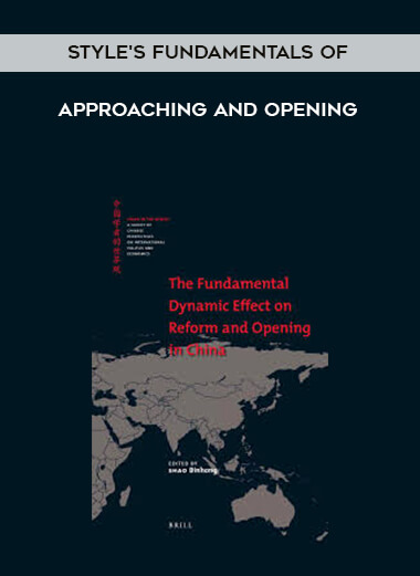 Style's Fundamentals of Approaching and Opening form https://koiforest.com/