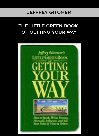 Jeffrey Gitomer -The Little Green Book of Getting Your Way form https://koiforest.com/