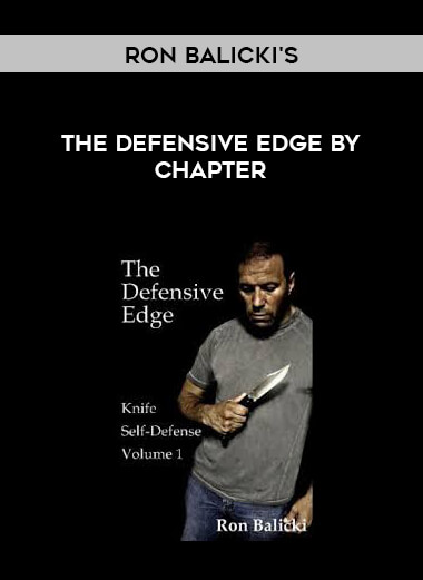 ron balicki's the defensive edge by chapter form https://koiforest.com/