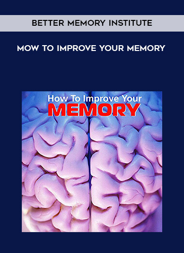Better Memory Institute - Mow to Improve your memory form https://koiforest.com/