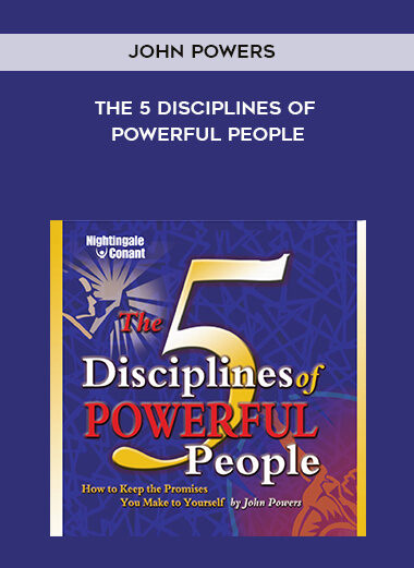 John Powers - The 5 Disciplines of Powerful People form https://koiforest.com/