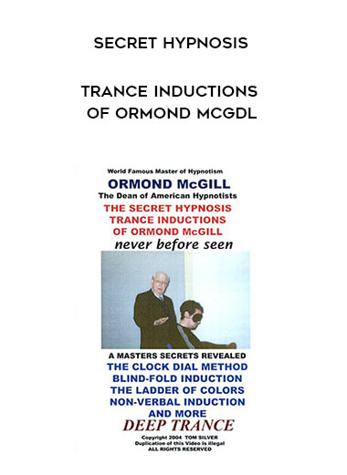 Secret Hypnosis Trance Inductions of Ormond McGdl form https://koiforest.com/