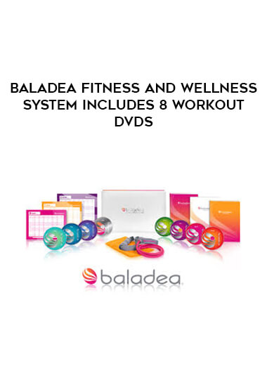 Baladea Fitness and Wellness System includes 8 Workout DVDs form https://koiforest.com/