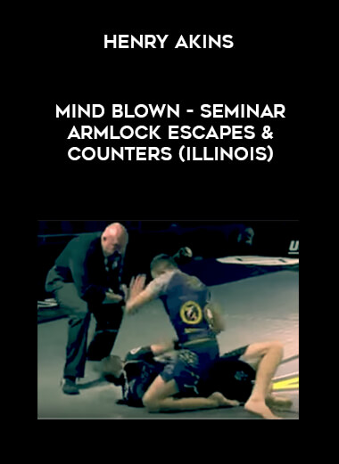 Henry Akins - Mind blown - Seminar armlock escapes & counters (Illinois) form https://koiforest.com/