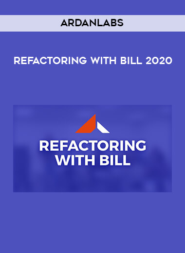 Ardanlabs - Refactoring With Bill 2020 form https://koiforest.com/