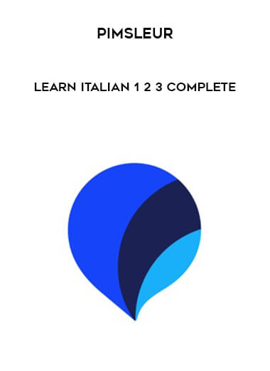 Pimsleur - Learn Italian 1 - 2 - 3 Complete form https://koiforest.com/