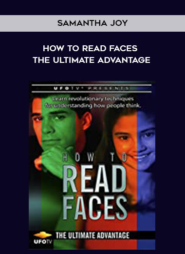 Samantha Joy - How to Read Faces The Ultimate Advantage form https://koiforest.com/