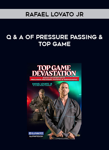 Q & A of Pressure Passing & Top Game by Rafael Lovato Jr form https://koiforest.com/