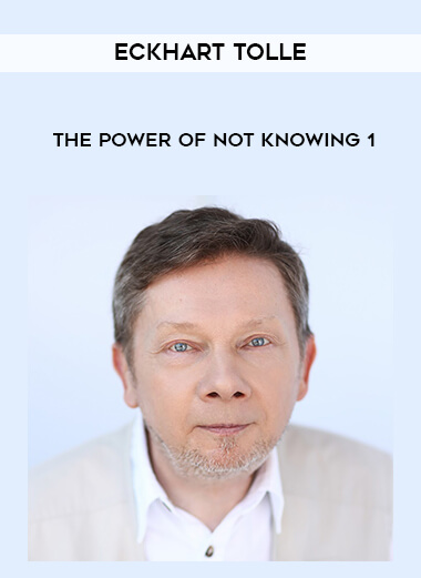 Eckhart Tolle - The Power of Not Knowing 1 form https://koiforest.com/