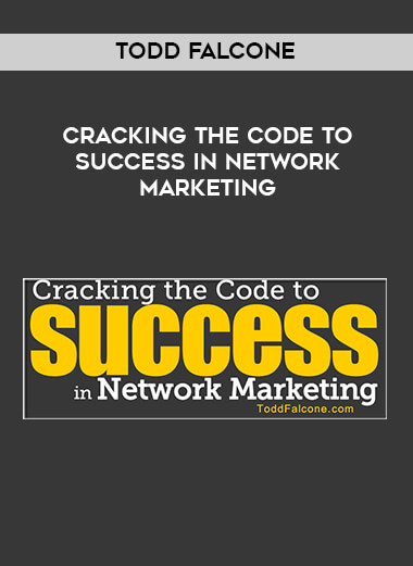 Todd Falcone - Cracking The Code To Success In Network Marketing form https://koiforest.com/