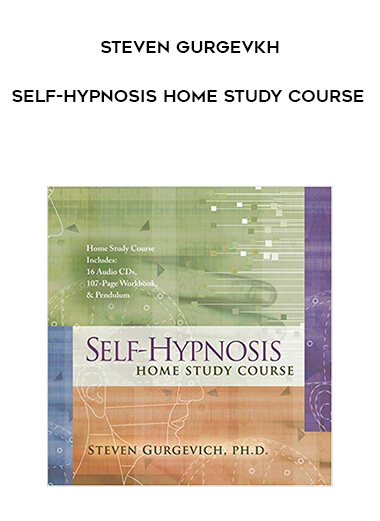 Steven Gurgevkh - Self-Hypnosis Home Study Course form https://koiforest.com/