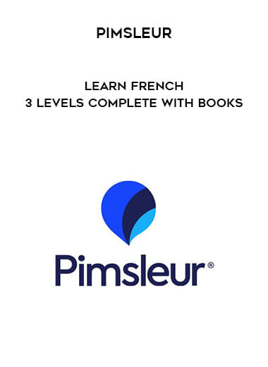Pimsleur - Learn French - 3 Levels Complete with books form https://koiforest.com/