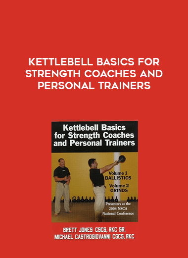 Kettlebell Basics for Strength Coaches and Personal Trainers form https://koiforest.com/