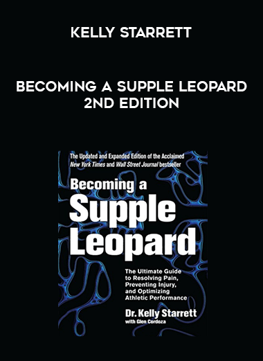 Becoming a Supple Leopard 2nd Edition - Kelly Starrett form https://koiforest.com/