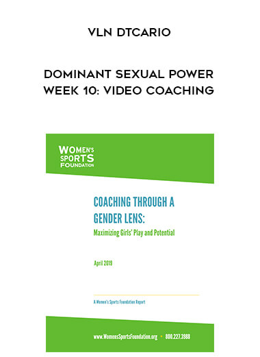 Vln DtCario - Dominant Sexual Power Week 10: Video Coaching form https://koiforest.com/