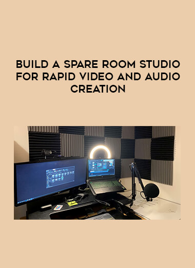 Build a spare room studio for rapid video and audio creation form https://koiforest.com/