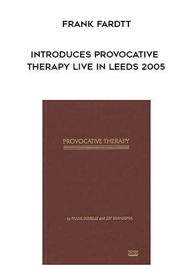 Frank Fardtt Introduces Provocative Therapy Live in Leeds 2005 form https://koiforest.com/
