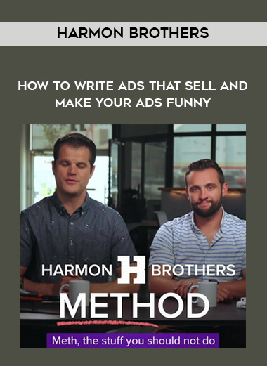 Harmon Brothers - How To Write Ads That Sell And Make Your Ads Funny form https://koiforest.com/