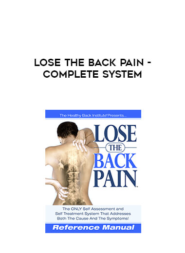 Lose The Back Pain - Complete System form https://koiforest.com/
