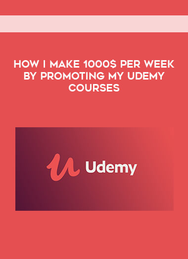 How I Make 1000$ Per Week By Promoting My Udemy Courses form https://koiforest.com/