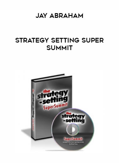 Jay Abraham - Strategy Setting Super Summit form https://koiforest.com/
