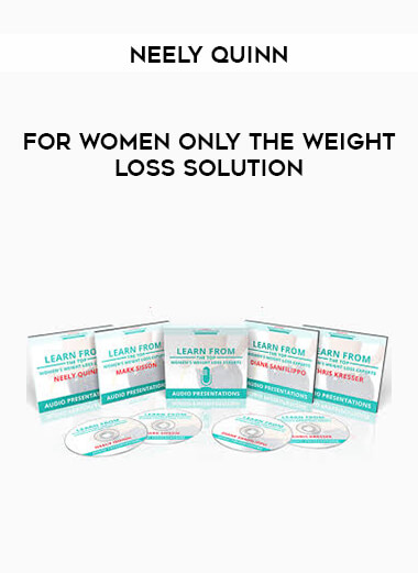 Neely Quinn - For Women Only The Weight Loss Solution form https://koiforest.com/
