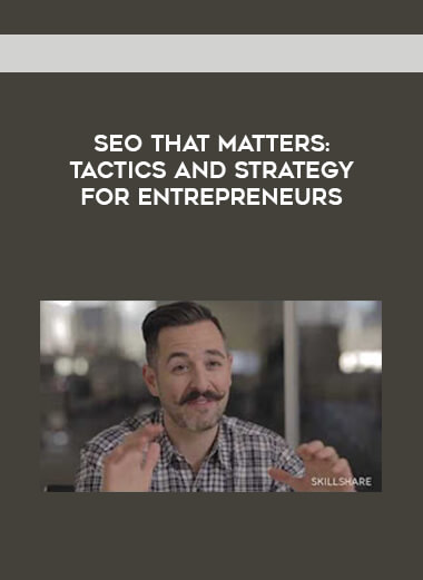 SEO That Matters: Tactics and Strategy for Entrepreneurs form https://koiforest.com/