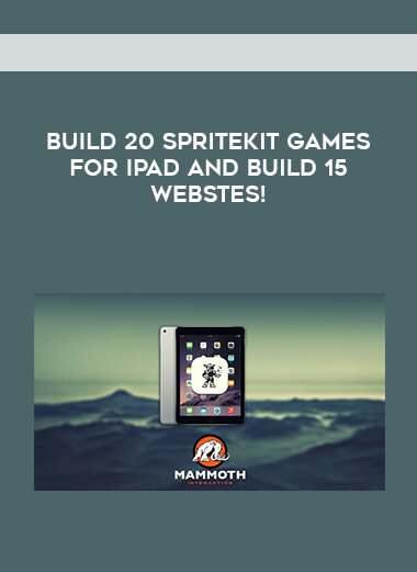 Build 20 SpriteKit Games for iPad and build 15 Webstes! form https://koiforest.com/