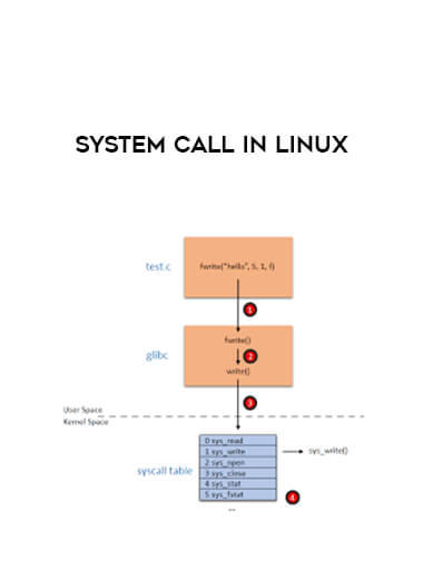 System Call in Linux form https://koiforest.com/