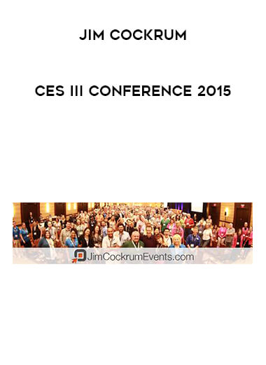 Jim Cockrum - Ces III Conference 2015 form https://koiforest.com/