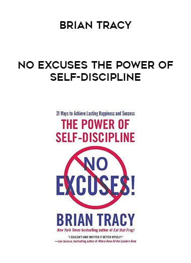 Brian Tracy - No Excuses The Power of Self-Discipline form https://koiforest.com/