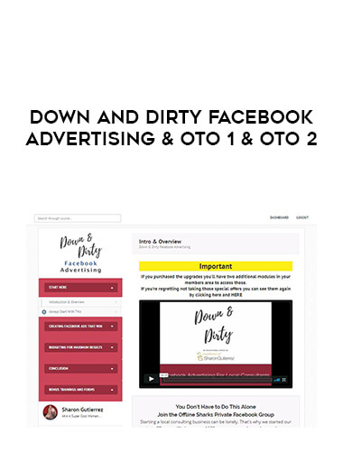 Down And Dirty Facebook Advertising & Oto 1 & Oto 2 form https://koiforest.com/