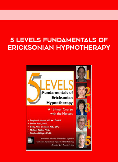 5 Levels Fundamentals of Ericksonian Hypnotherapy form https://koiforest.com/