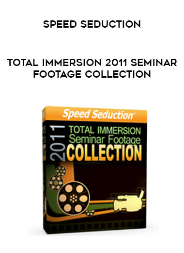 Speed Seduction - Total Immersion 2011 Seminar Footage Collection form https://koiforest.com/