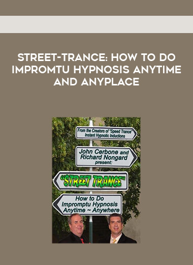 Street-Trance: How to Do Impromtu Hypnosis Anytime and Anyplace form https://koiforest.com/
