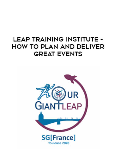 Leap Training Institute - How to plan and deliver great events form https://koiforest.com/
