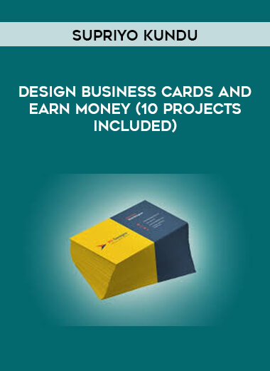 Supriyo Kundu - Design Business Cards and Earn Money (10 Projects Included) form https://koiforest.com/