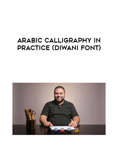 Arabic Calligraphy in Practice (Diwani font) form https://koiforest.com/