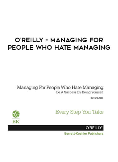 O'Reilly - Managing For People Who Hate Managing form https://koiforest.com/