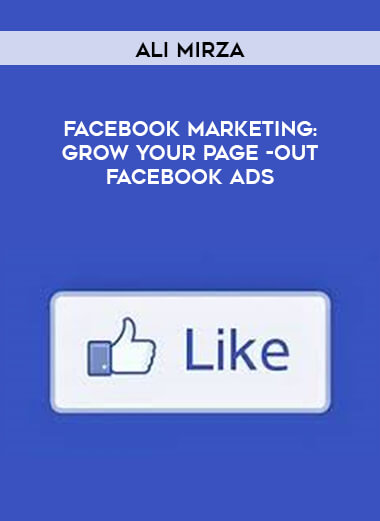Ali Mirza - Facebook Marketing - Grow Your Page -out Facebook Ads form https://koiforest.com/