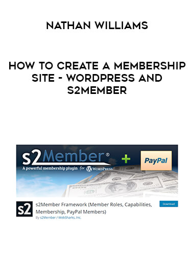 Nathan Williams - How to Create a Membership Site - WordPress and s2Member form https://koiforest.com/